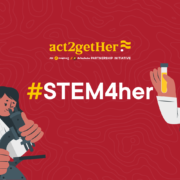 Act2getHer rounds up first batch of its program, Stem4Her. 150 girls were trained